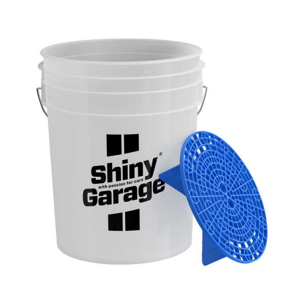 Shiny Garage Wascheimer 20L inkl. Schmutzsieb Blau, ohne Deckel